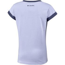 Columbia Lost Trail - T-shirt manches courtes Enfant - violet